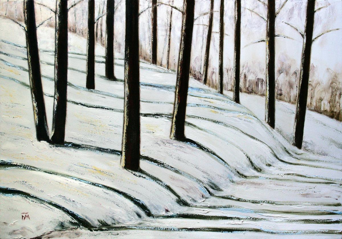 Выставочный художника Галины Каковкиной «Расширяя пространство зимы»