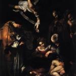 Картина Караваджо «Рождество со святым Франциском и святым Лаврентием»