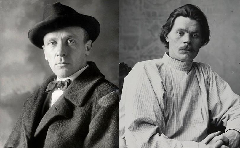 Выставка «Булгаков и Горький: как распался союз писателей»