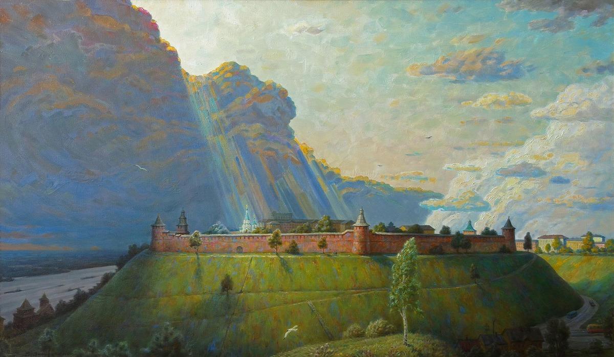 Выставка картин Владимира и Марии Занога
