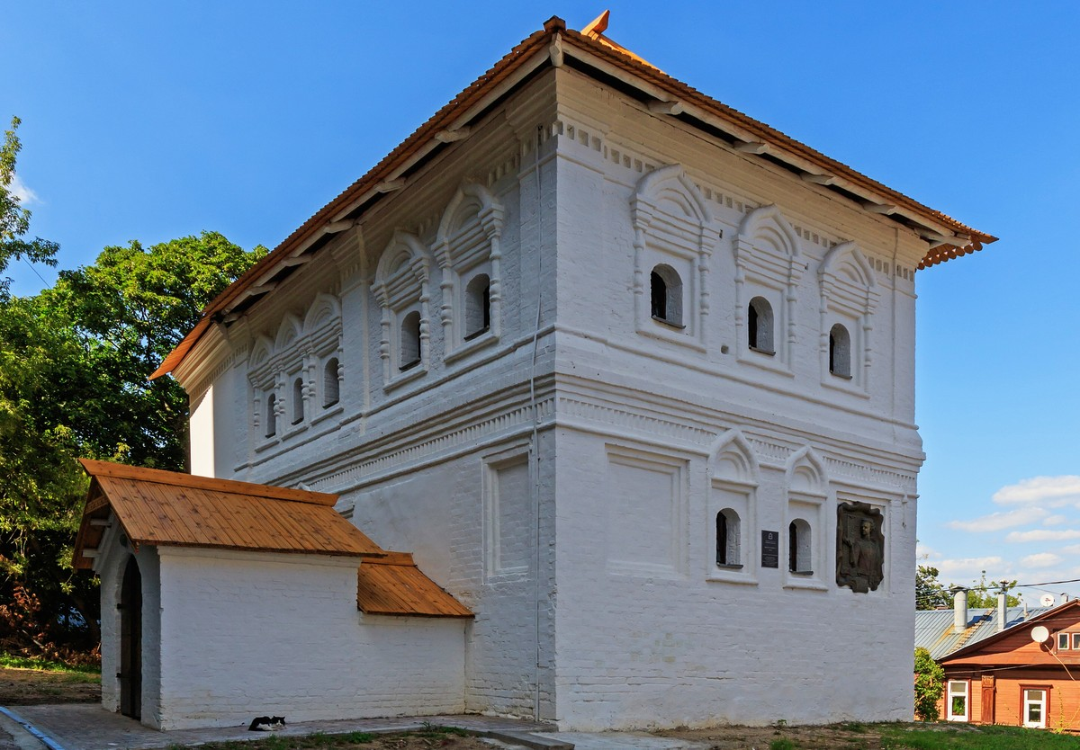 Палаты Чатыгина, более известные как Домик Петра I в Нижнем Новгороде