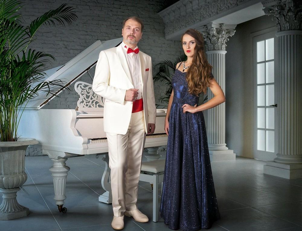 Лауреаты международных конкурсов Вадим Соловьев и Наталья Маркина