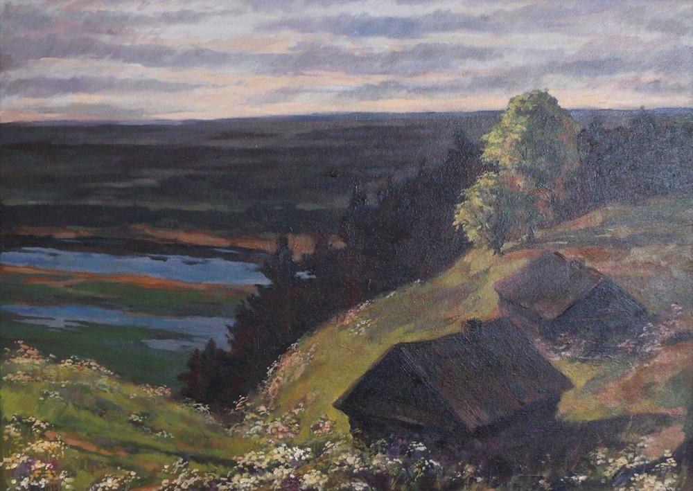 Выставка творчества художника Николая Ростовцева в Художественном музее