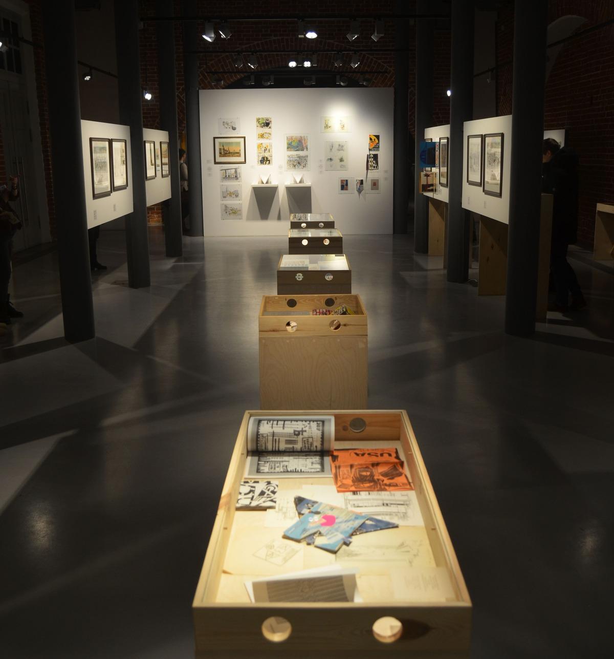 Фоторепортаж. Выставка «Бумажные истории»