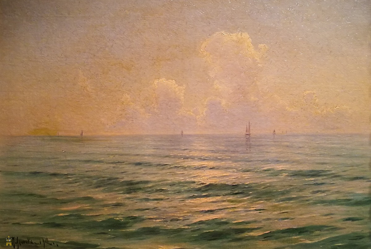 «Рассвет на море», 1912