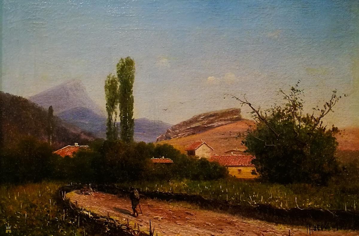 «Крымский пейзаж», 1893
