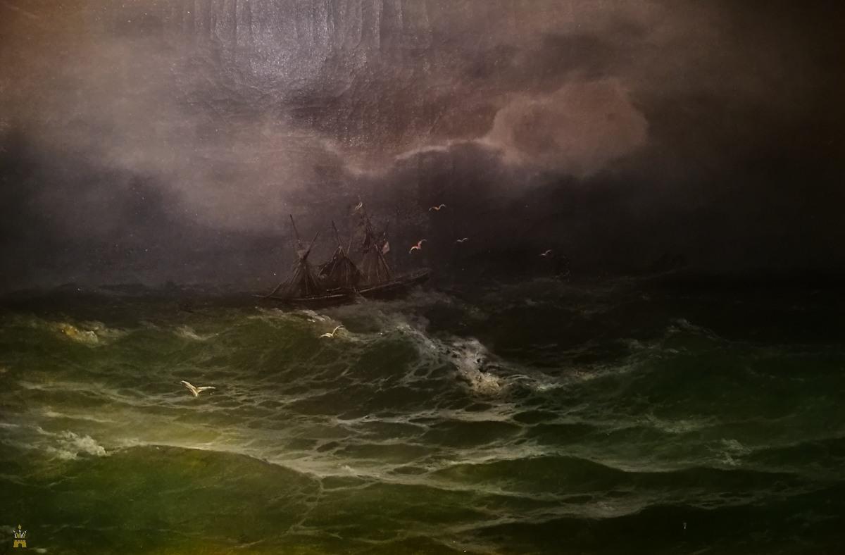 «Шторм на море», 1894