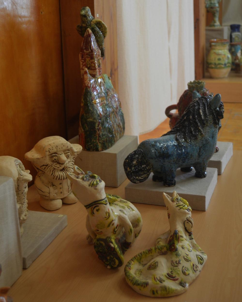 Выставка керамики «В гостях у птицы сирин»