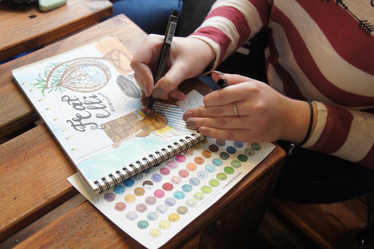 Как проходят встречи Urban Sketchers Nizhny Novgorod