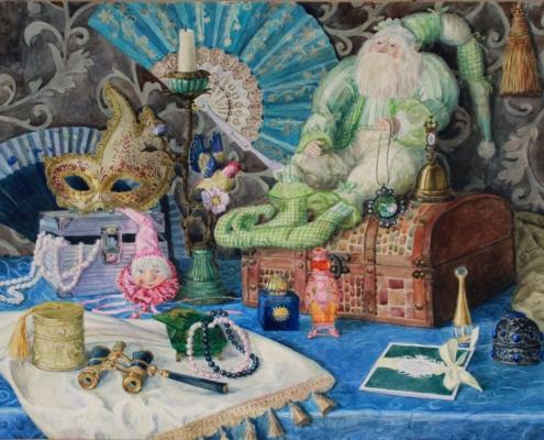 Выставка нижегородской художницы Светланы Ворожейкиной «Пространство радости и света»