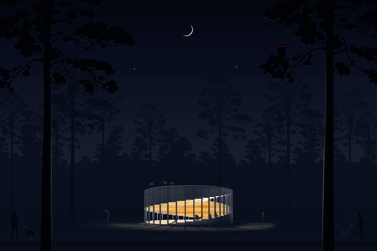 «Павильон будущего» на «Арт-овраг» 2019