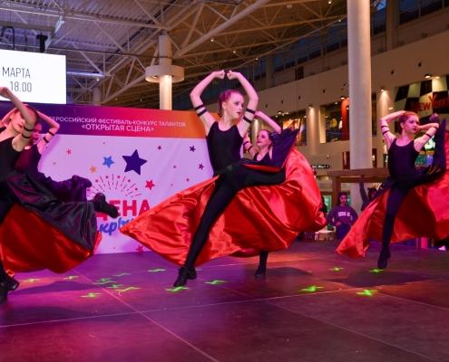 Всероссийский телевизионный фестиваль-конкурс талантов «Открытая сцена» состоится в ТРЦ «Крым»