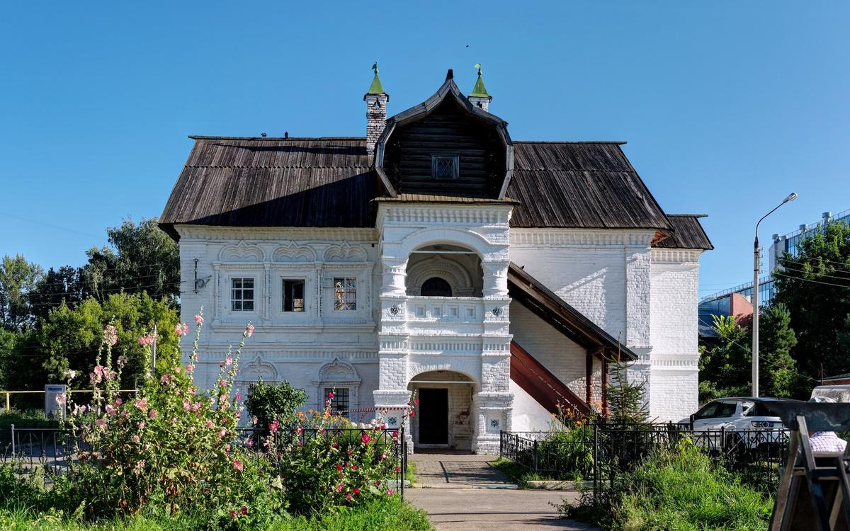 Памятник русского зодчества XVII века – палаты Афанасия Олисова в Нижнем Новгороде