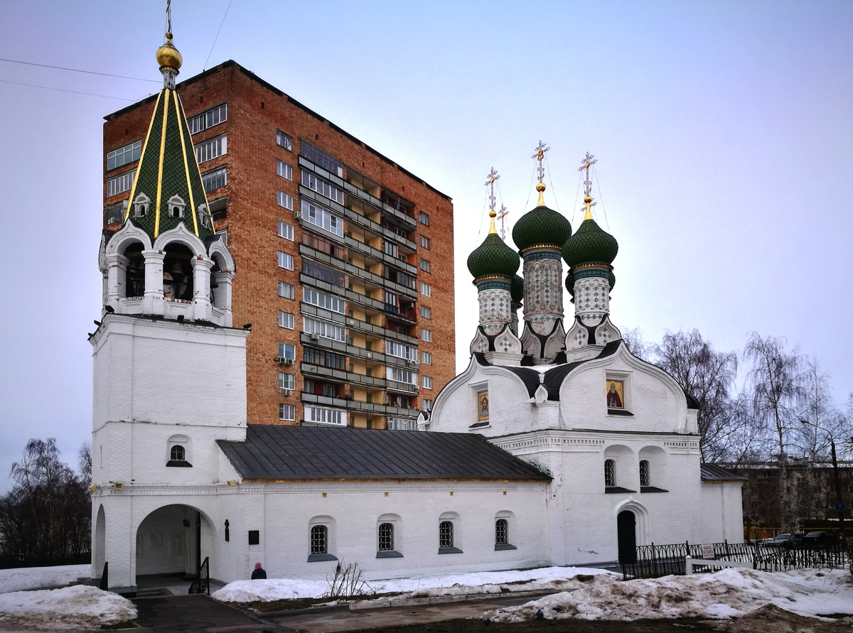 Церковь Успения Божией Матери (ранее Успенский храм)