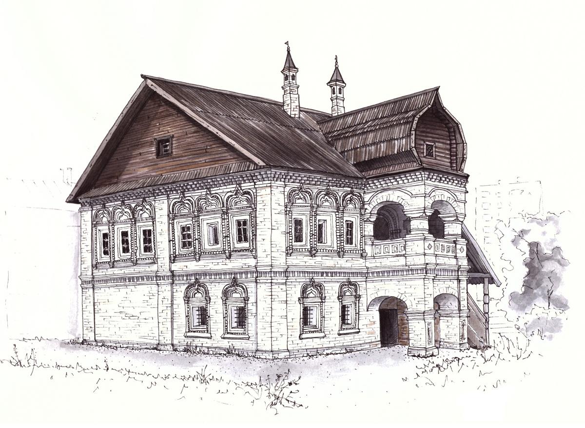 Палаты Афанасия Олисова (скетч)