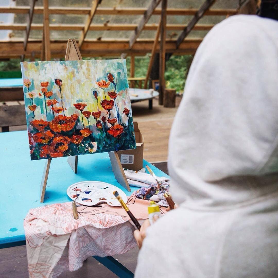 Четвёртый лагерь свободного творчества «Лесных Открытых Мастерских» (ЛОМ)