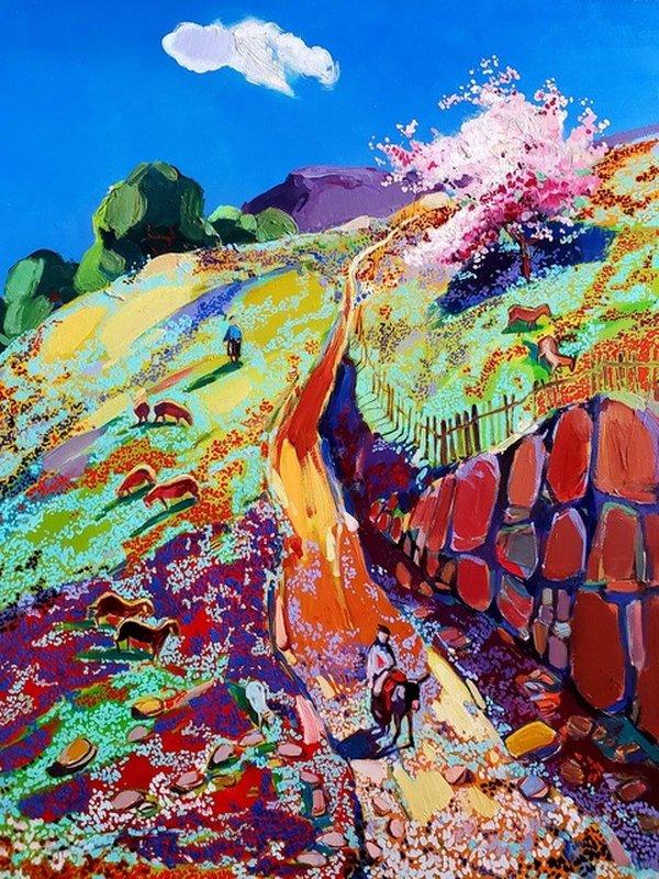 Выставка живописных полотен художника-колориста из Армении Мгера Чатиняна «Мое сердце в горах»