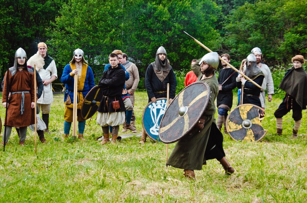 Второй фестиваль живой средневековой истории «Ржавый меч»