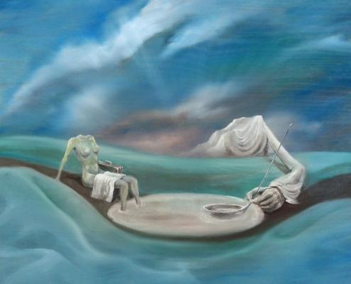 Персональная выставка художника-сюрреалиста Павла Бритвина «Временно»