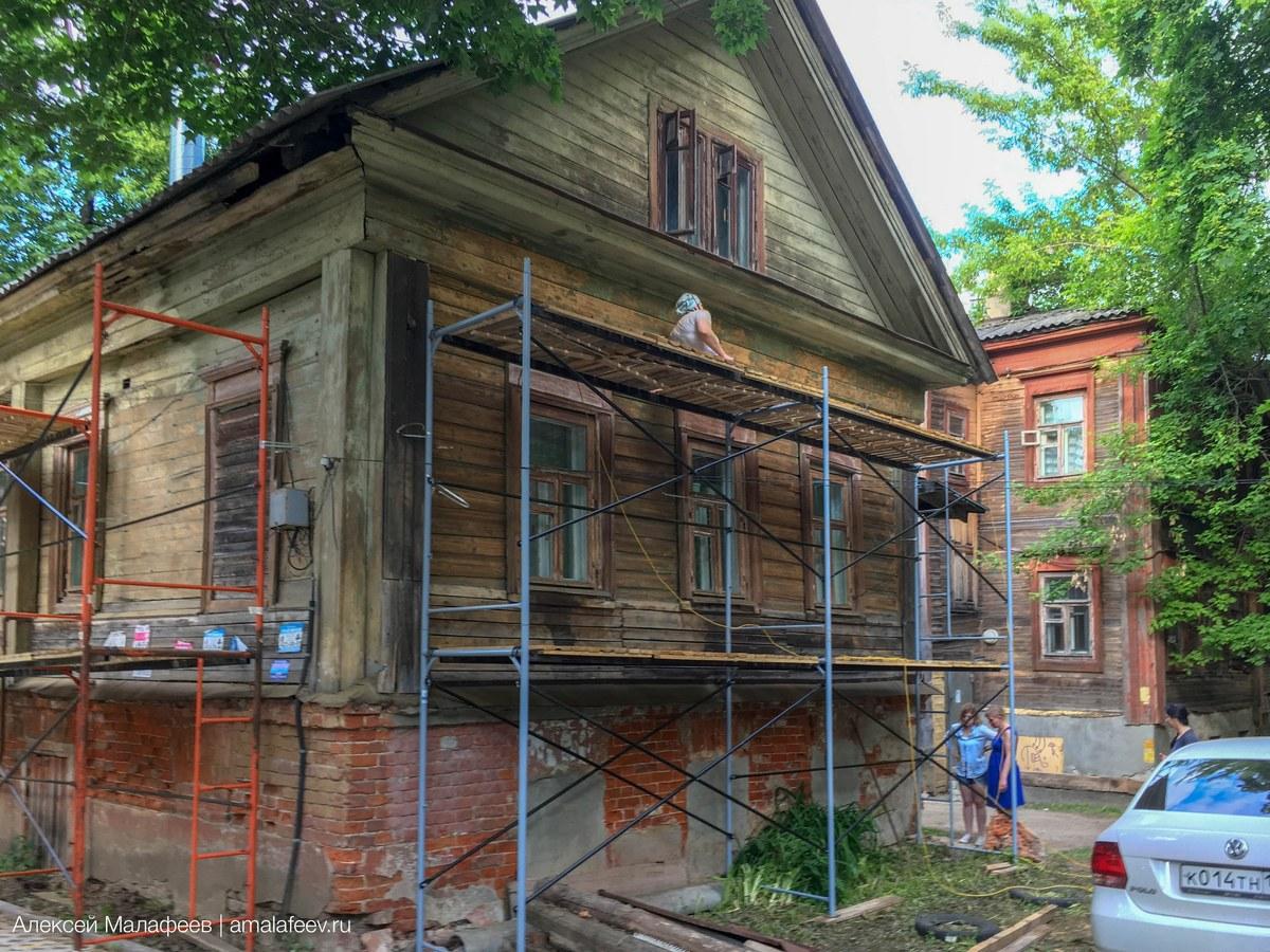 Фотографии с реставрации