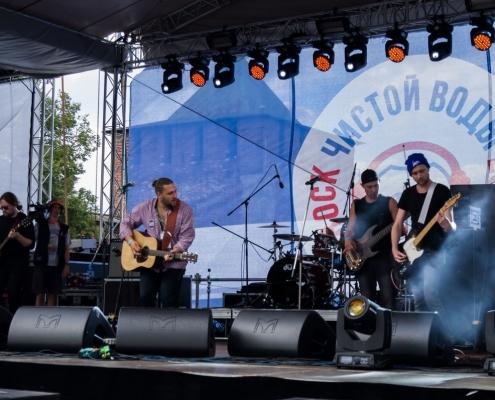 Фестиваль «Рок Чистой Воды — 2019» на Нижневолжской набережной