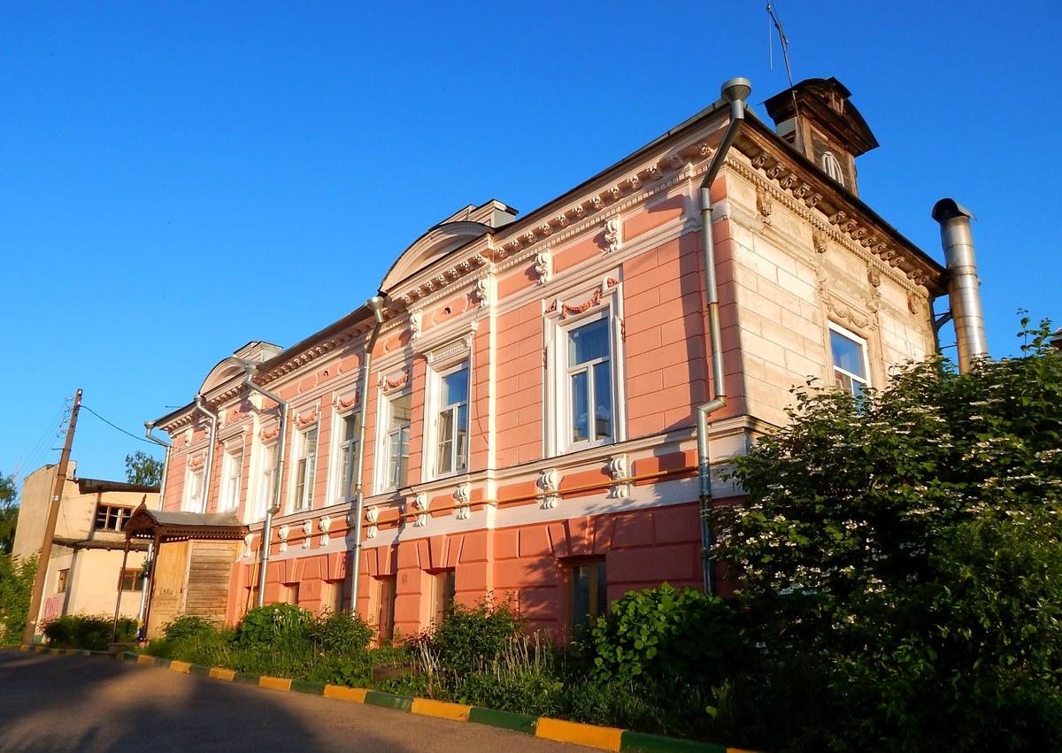 Дом М. Е. Башкирова