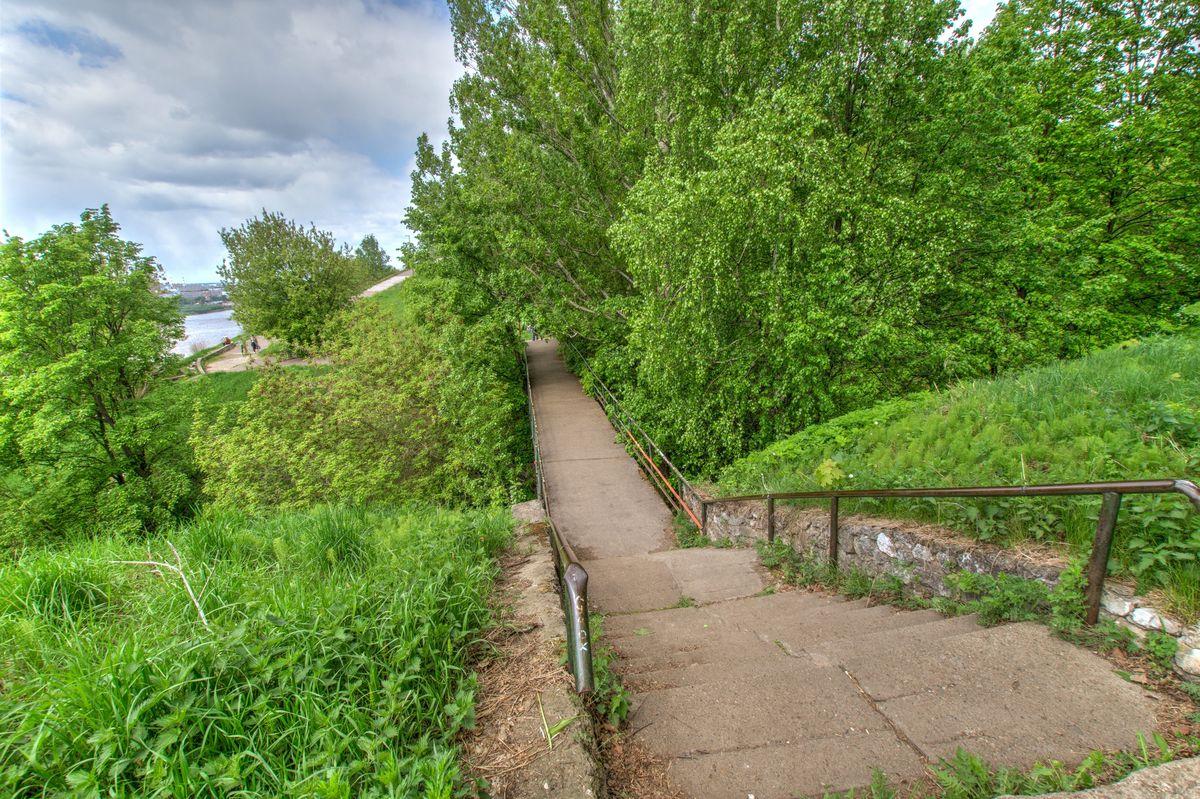 Парк «Швейцария» в Нижнем Новгороде