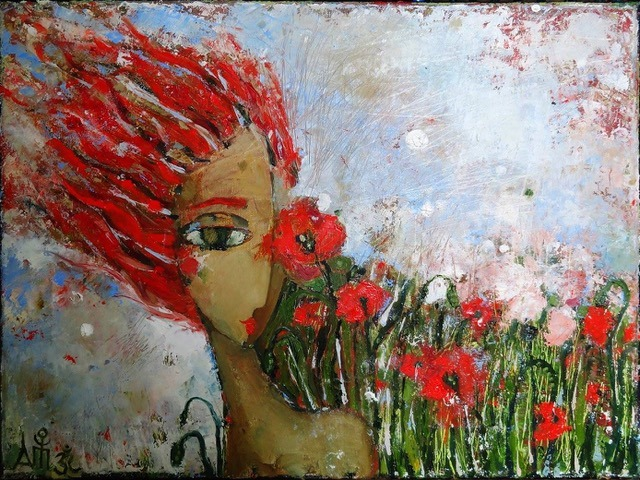 Выставка художницы Анны Тарасенко «Красная»