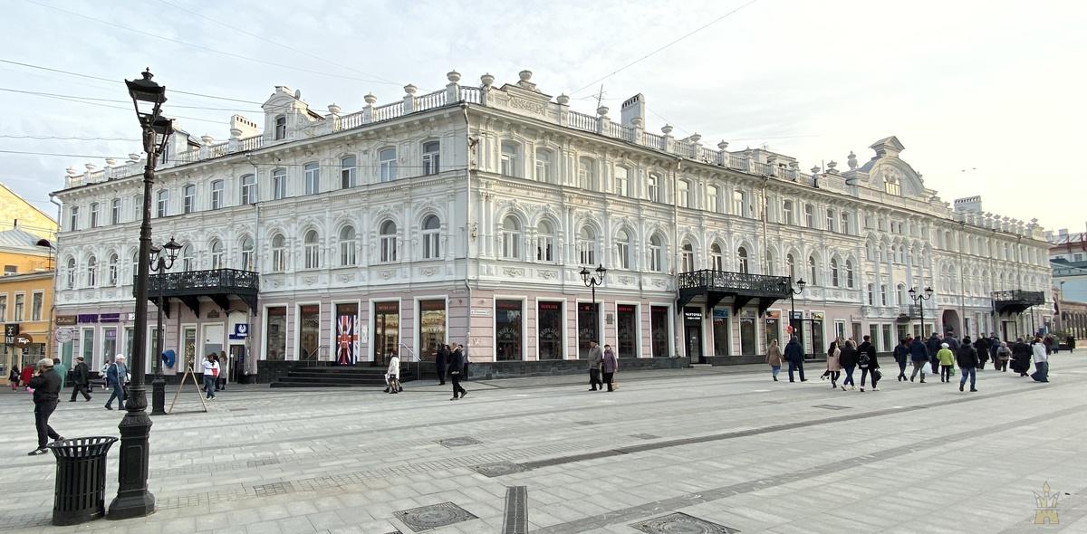 Доходный дом Никандра Степановича Чеснокова и Александра Григорьевича Кудряшова