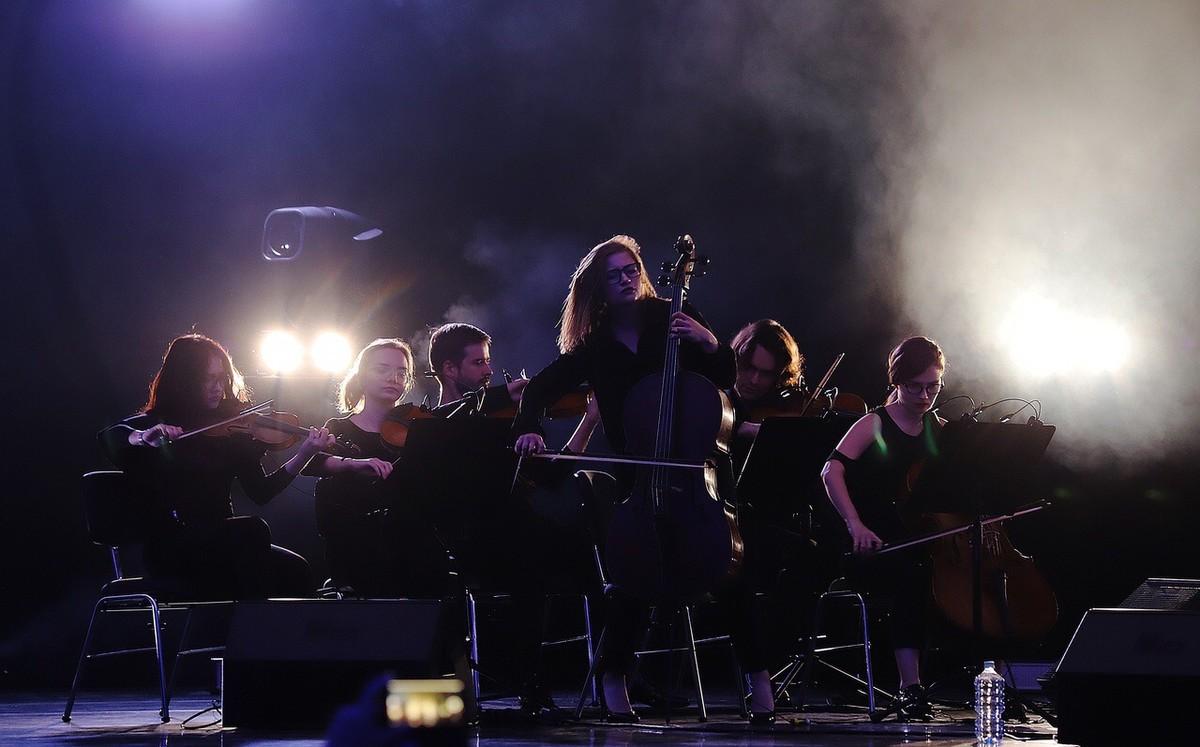 Московской оркестр Hard Rock Orchestra