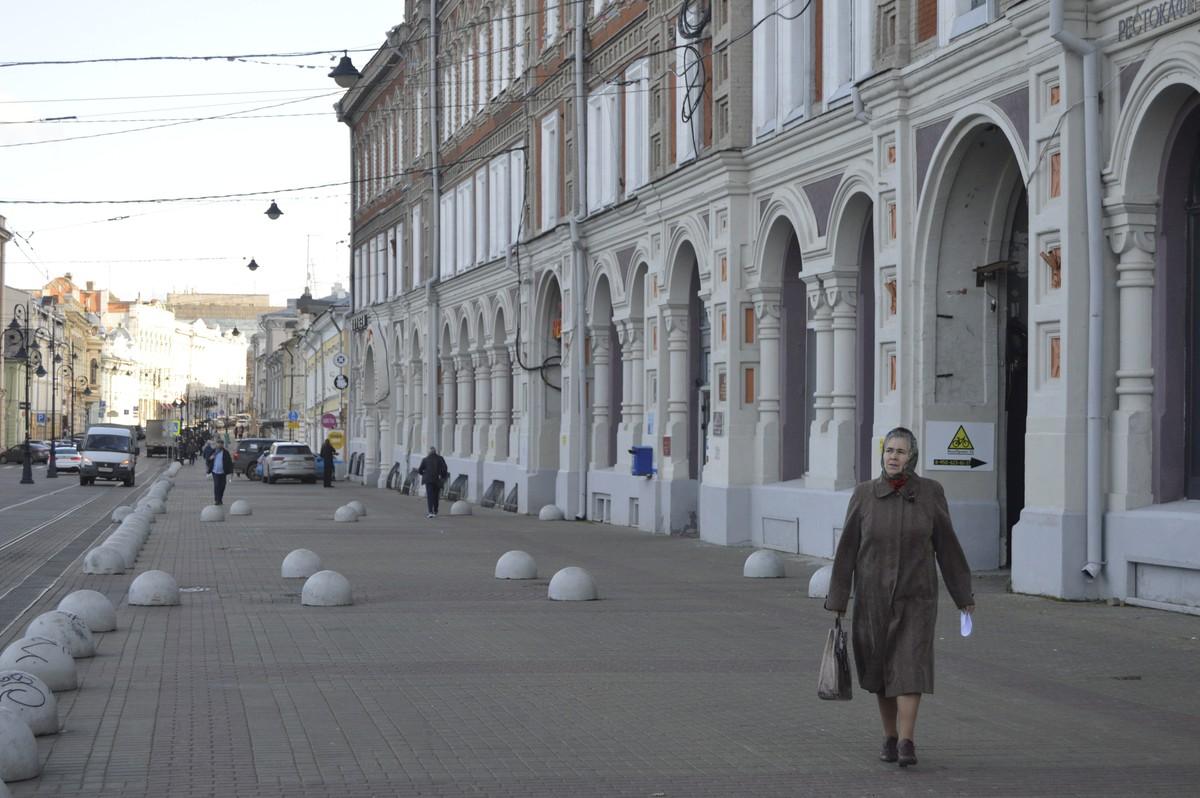 Фасад здания, вид с ул. Рождественской (Блиновка)