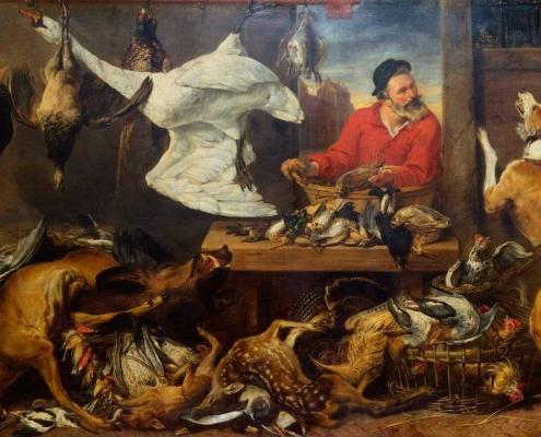Когда не знаешь, против чего протестовать: вегетарианцы объединяются в знак протеста против фламандской живописи XVII века с изображением мяса