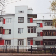 Памятник конструктивизма на ул. Ильинская, 57