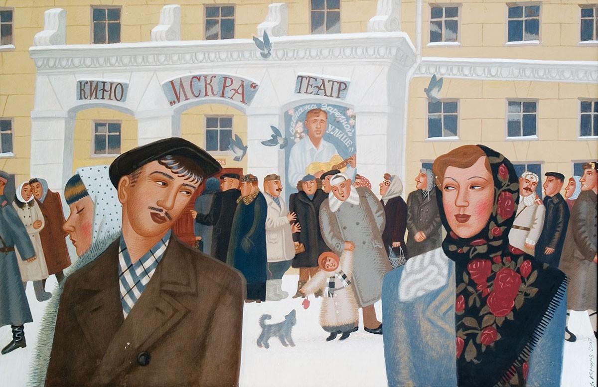 Выставка Александра Корнилова и Евгения Юсова