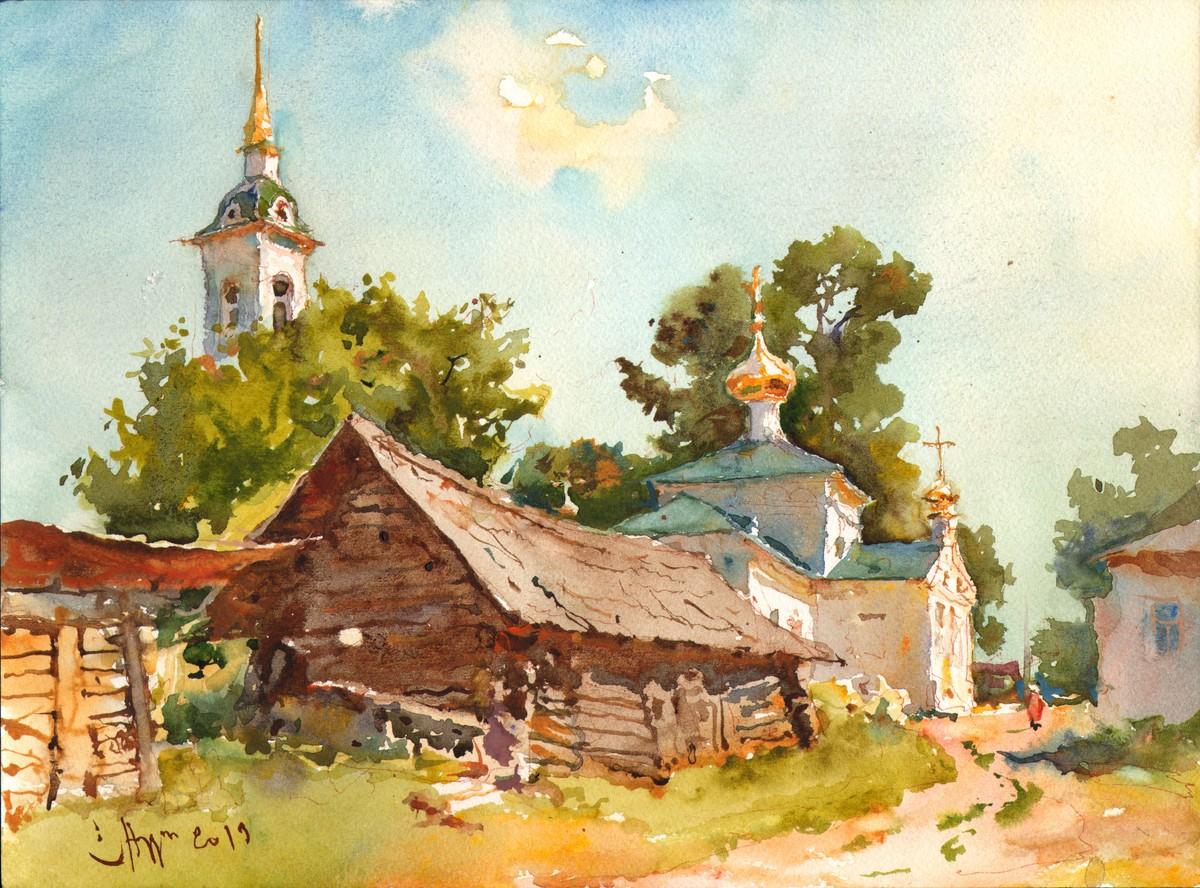 Сергей Алдушкин «Лето в Белбаже», 2019 г.
