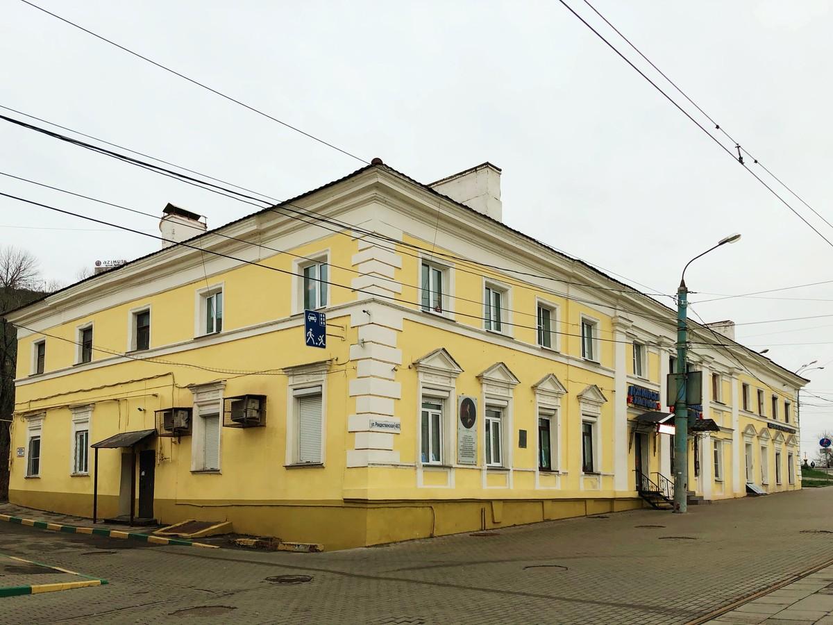 Доходный дом Абмелек-Лазоревых в Нижнем Новгороде