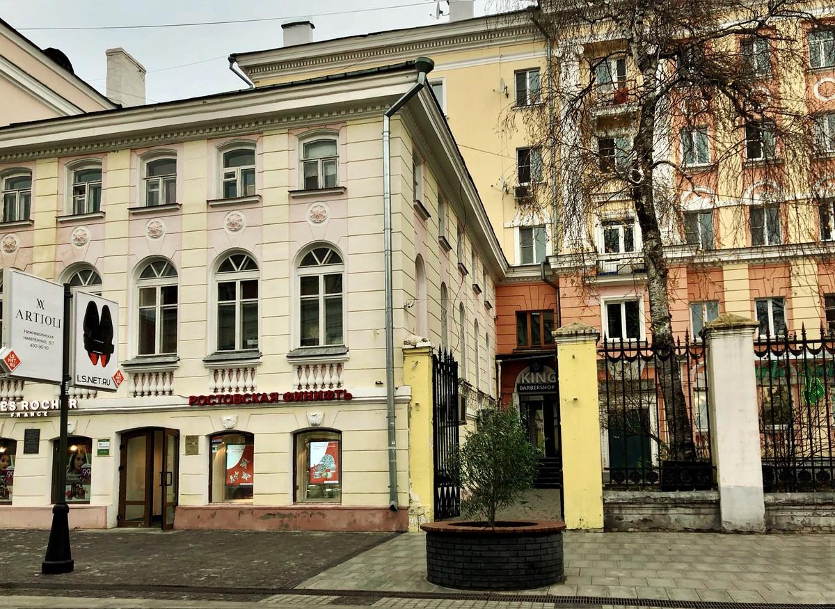 Дома Никольского причта в Нижнем Новгороде
