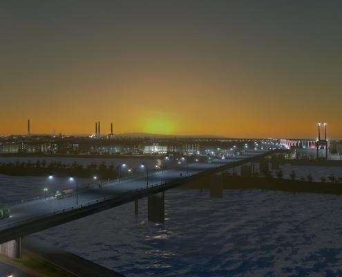 Геймер воссоздал Нижний Новгород в игре Cities: Skylines