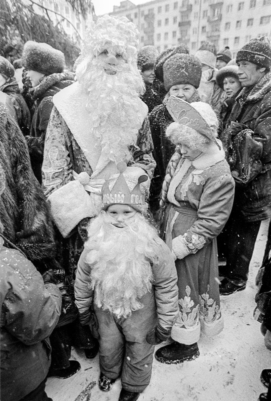 Новый год. Ретроспектива. XIX-XX вв.