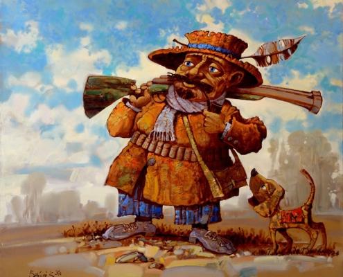 Персональная выставка краснодарского художника Константина Канского «Тень для солнца»