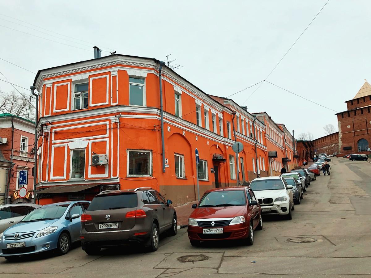 Здание соляной конторы в Нижнем Новгороде