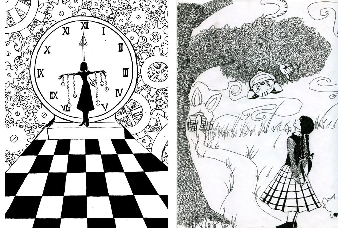 Рисунки с избыточной детализацией