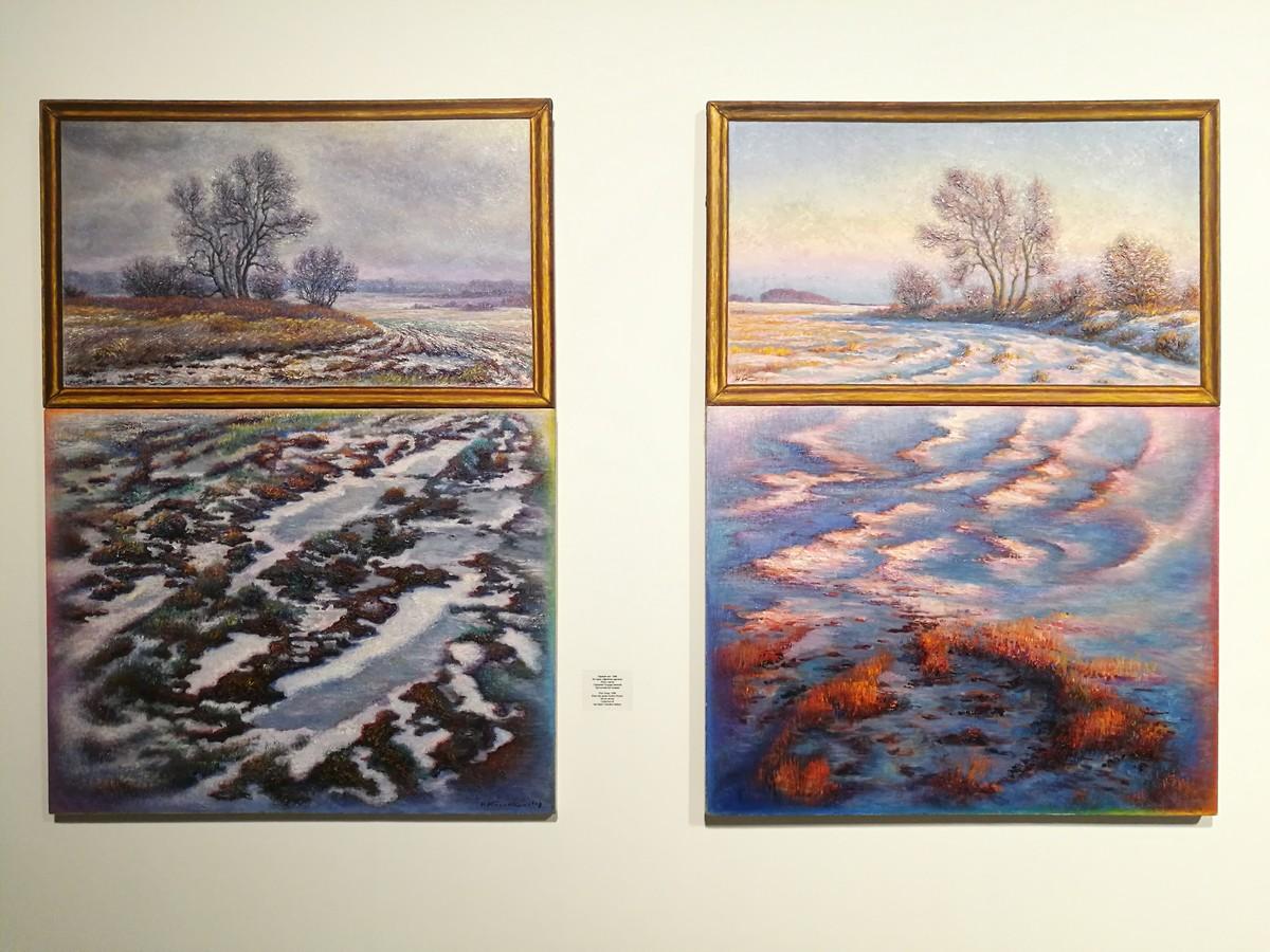 Зоя Николаевна рассказала про случай на выставке Касаткина в Манеже: молодые люди смотрели на эту картину, как вдруг их осенило — «слушайте, это Виндовс».