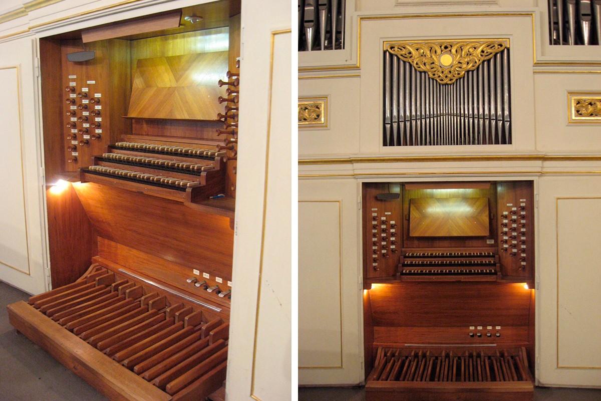 Самый известный нижегородский орган из большого зала Нижегородской консерватории