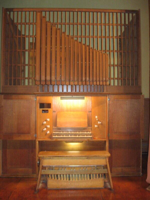 Духовой орган, Музыкальный колледж им. Балакирева