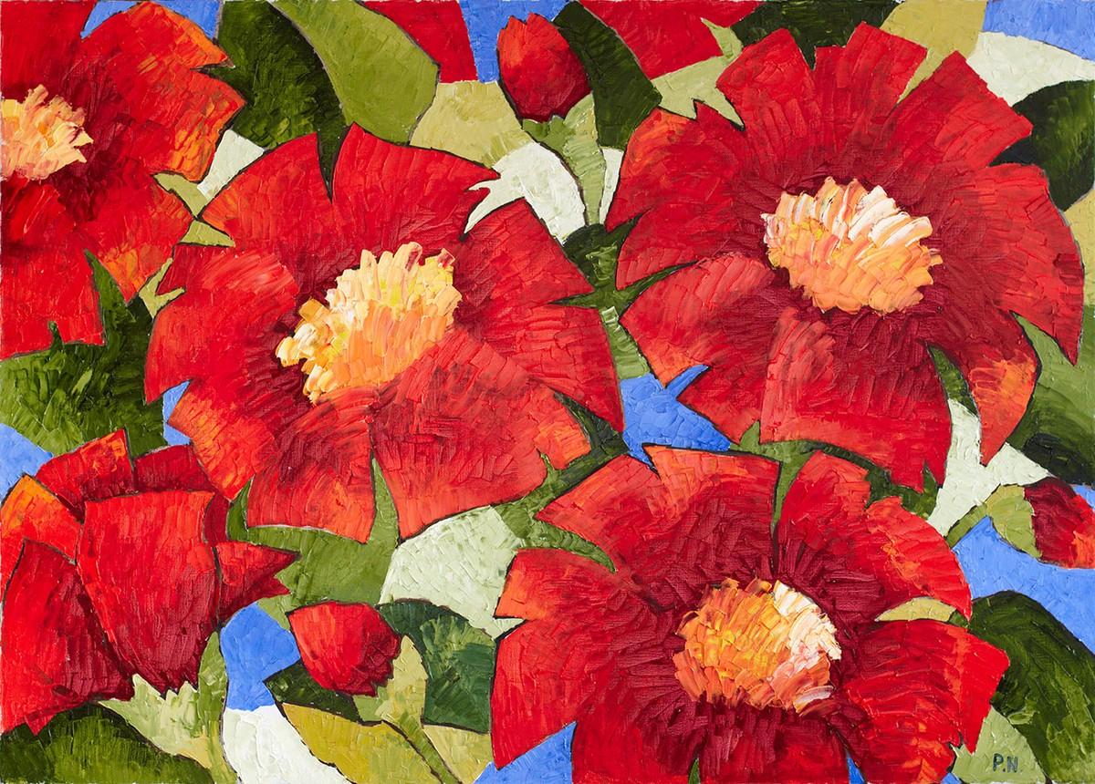 Летние праздничные цветы
