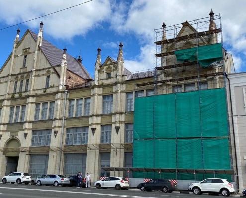 Отреставрируют фасад бывшей фабрики «Маяк»