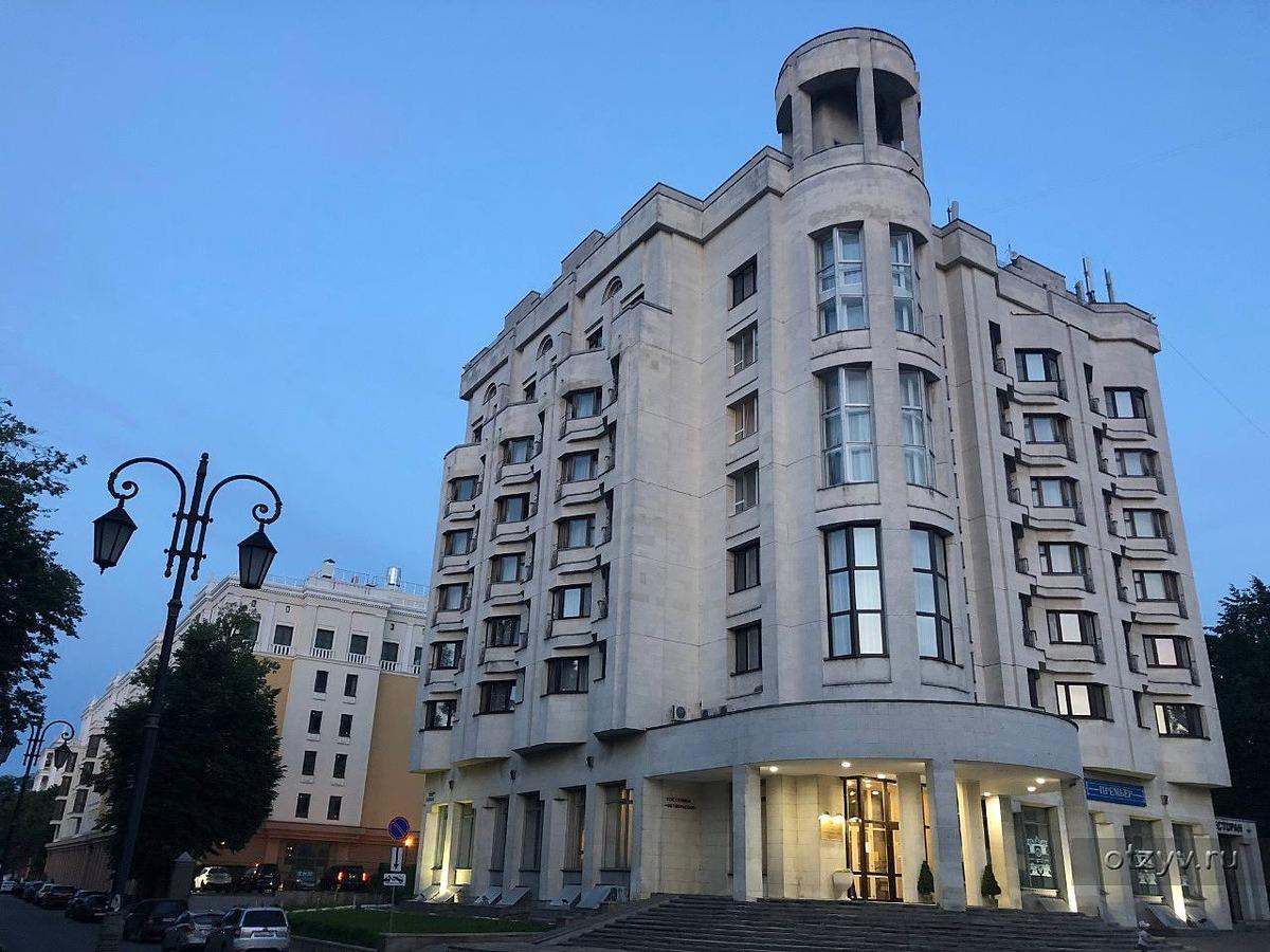 Гостиница «Октябрьская» (2019 год)