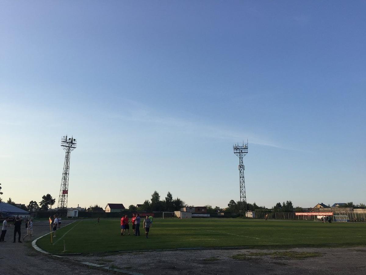 Стадион «Железнодорожник» в Нижнем Новгороде