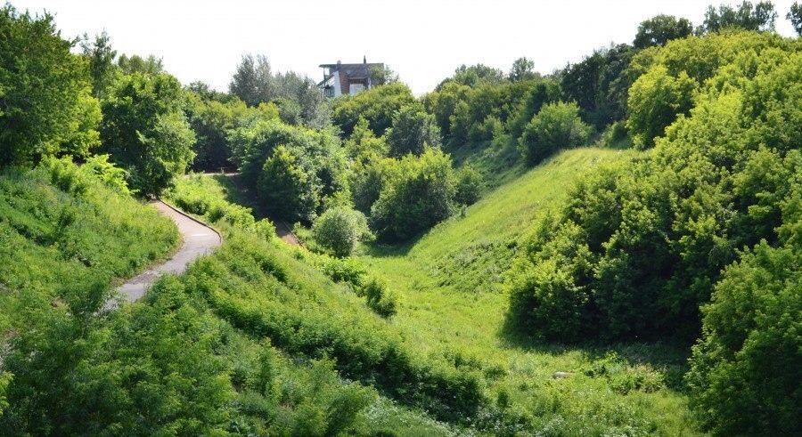 На месте Почаинского оврага появится парк вместо застройки